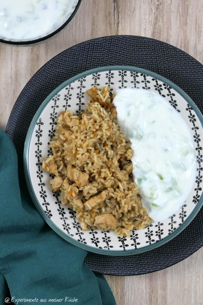 One Pot Gyrospfanne | Rezept | Essen | Kochen | Weight Watchers | Hähnchen