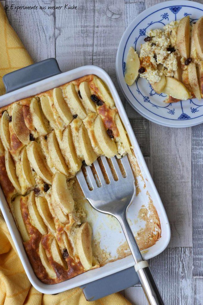 Apfel-Quark-Auflauf | Rezept | Essen | Nachtisch | Weigt Watchers