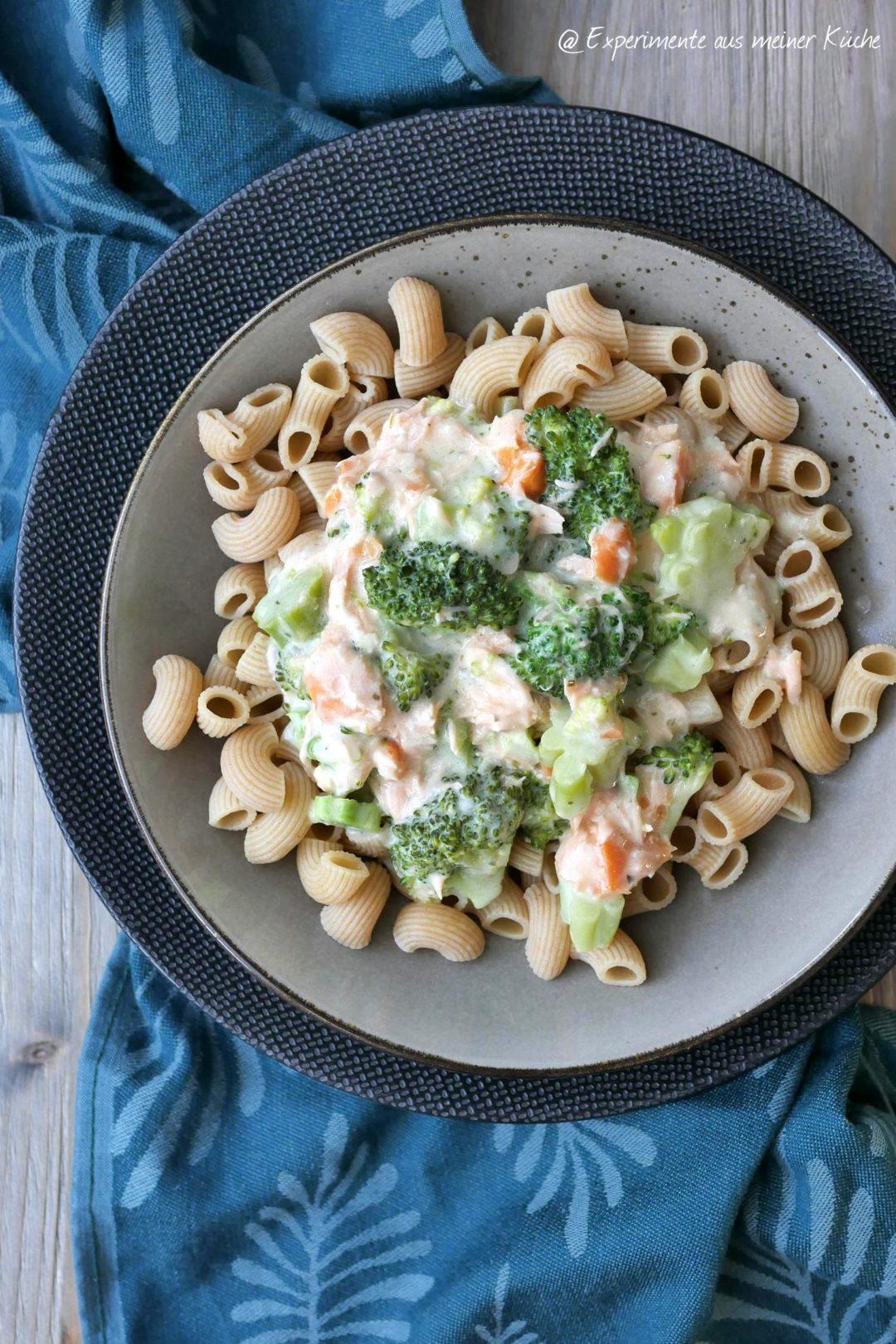 Brokkoli-Lachs-Pasta | Rezept | Essen | Kochen | Weight Watchers