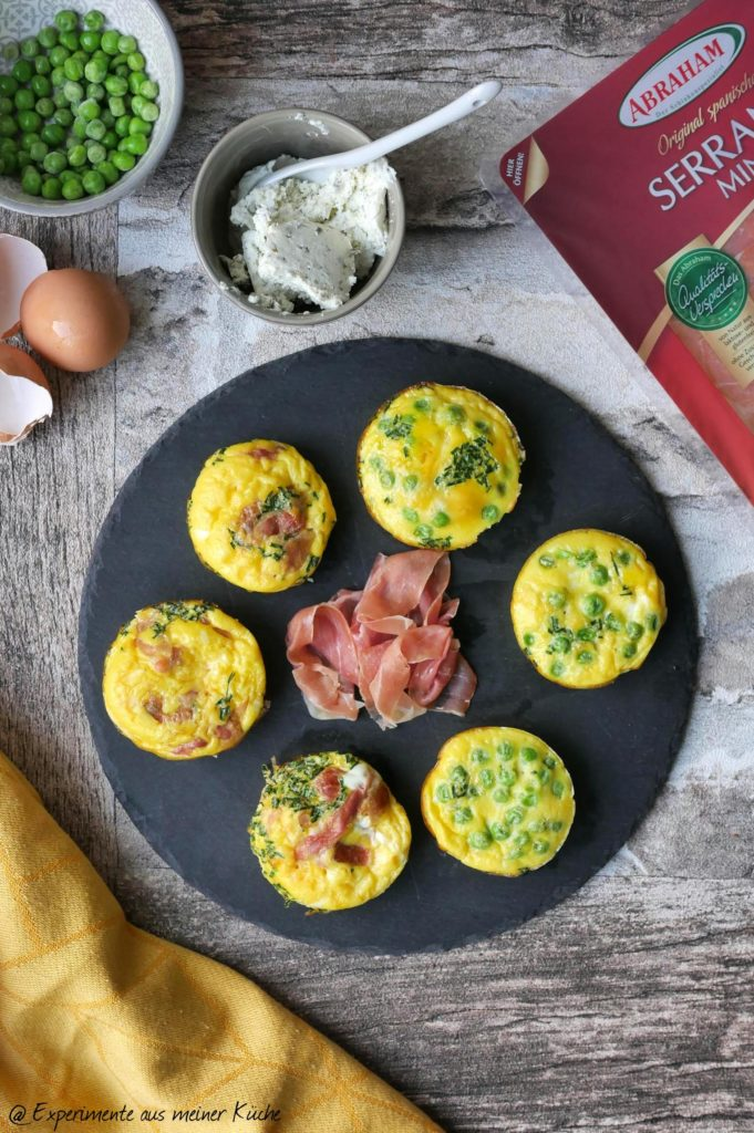 Tapas mal anders | Mini-Frittata | Rezept | Essen | Fingerfood |