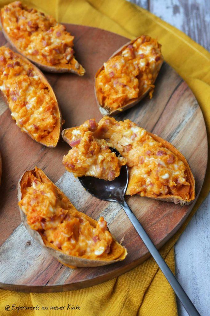 Gefüllte Süßkartoffel | Rezept | Essen | Kochen | Weight Watchers