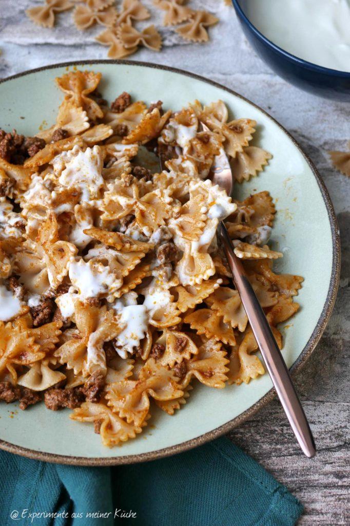 Falsche Manti | Rezept | Essen | Kochen | Pasta | Nudeln