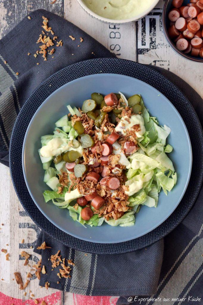 Hot Dog Bowl   Salat   Essen   Rezept   Weight Watchers