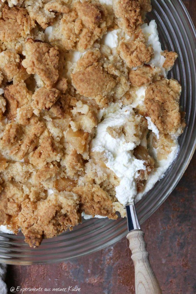 Apple Crumble Dessert | Rezept | Essen | Nachtisch | Party