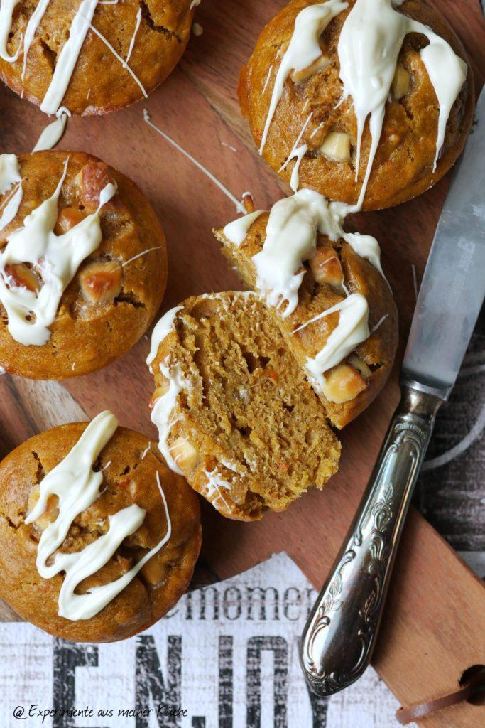 Kürbis-Bananen-Muffins | Backen | Muffins | Herbst