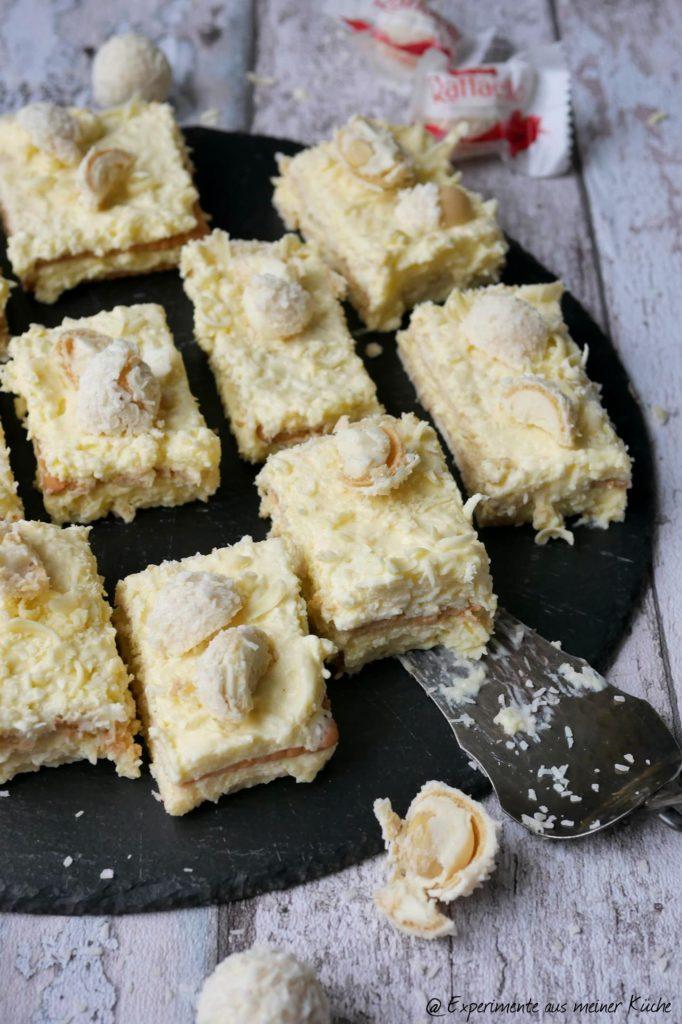 Raffaello-Butterkeks-Kuchen ohne Backen   Rezept   Essen   No Bake   Torte