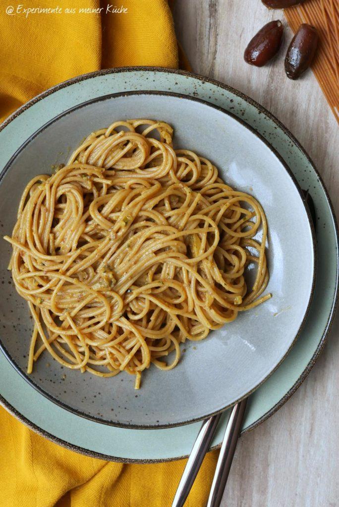 Spaghetti mit pikanter Dattelsoße | Rezept | Essen | Kochen | Weight Watchers