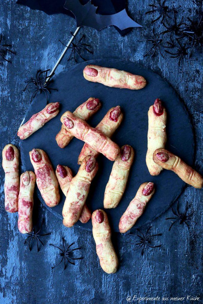 Halloween | Rezept | Essen | Fingerfood | Finger-Kekse