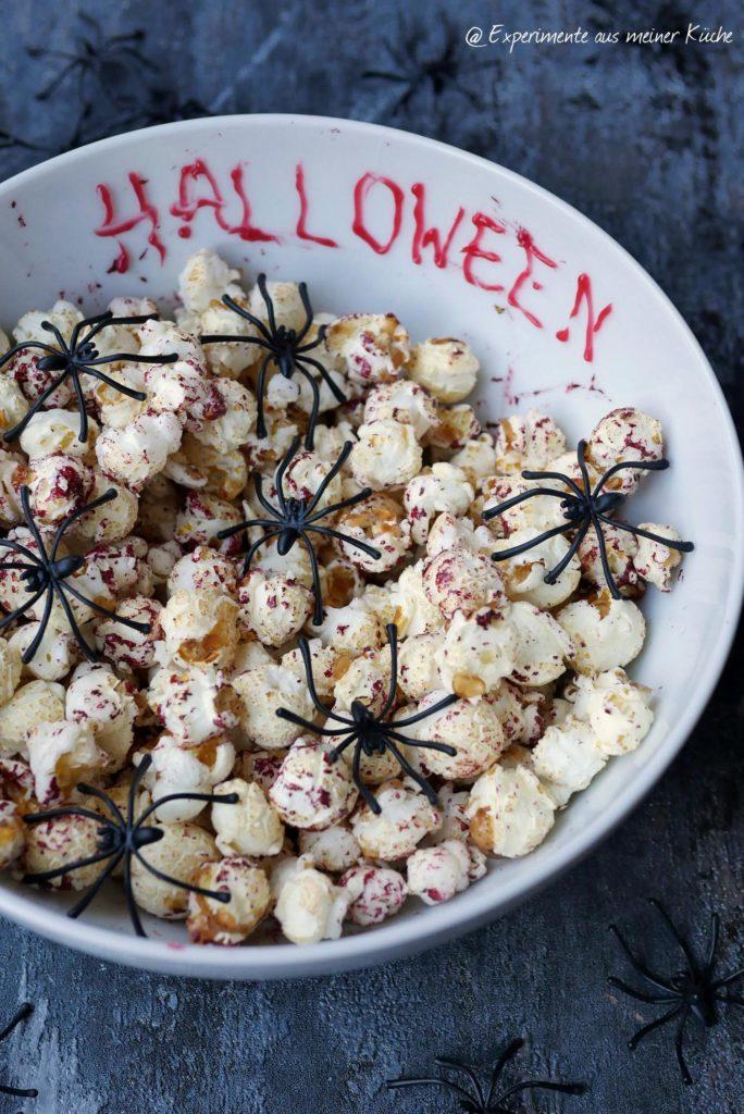 Halloween | Rezept | Essen | Fingerfood | Halloween-Popcorn