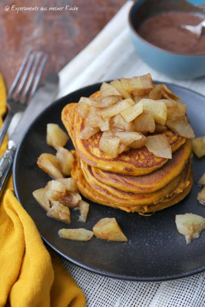 Kürbis-Pancakes | Rezept | Essen | Frühstück | Weight Watchers