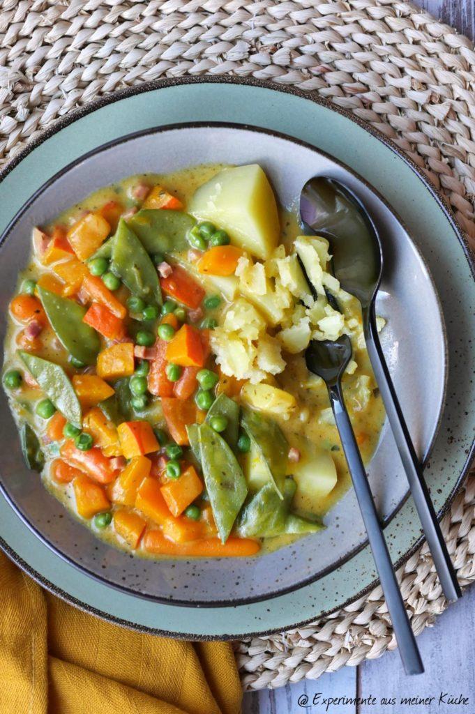 Kürbis-Zuckerschoten-Curry | Rezept | Kochen | Essen | Weight Watchers