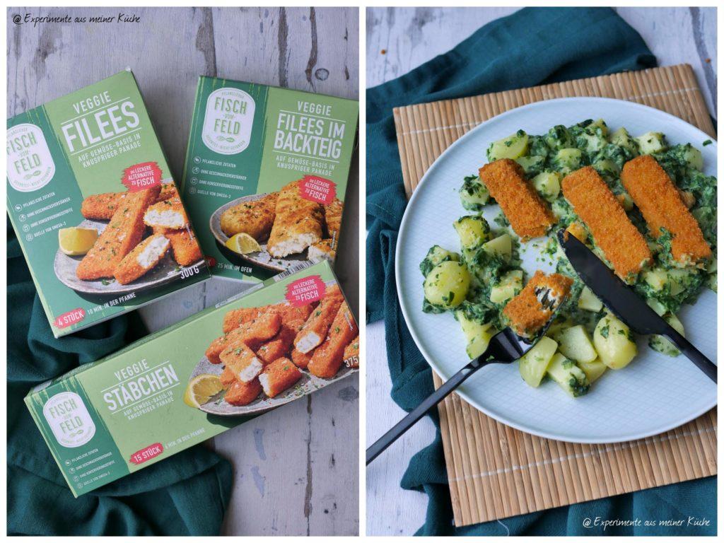 Vegetarischer-Fischstaebchen-Auflauf-mit-Spinat | Rezept | Kochen | Essen