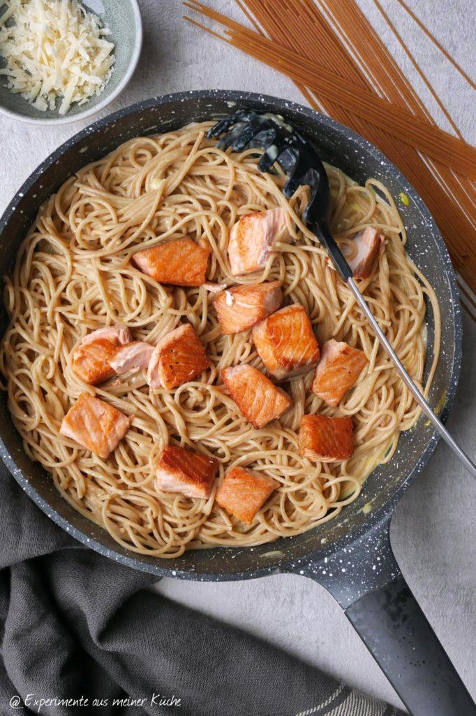 Lachs-Carbonara | Rezept | Kochen | Essen | Weight Watchers