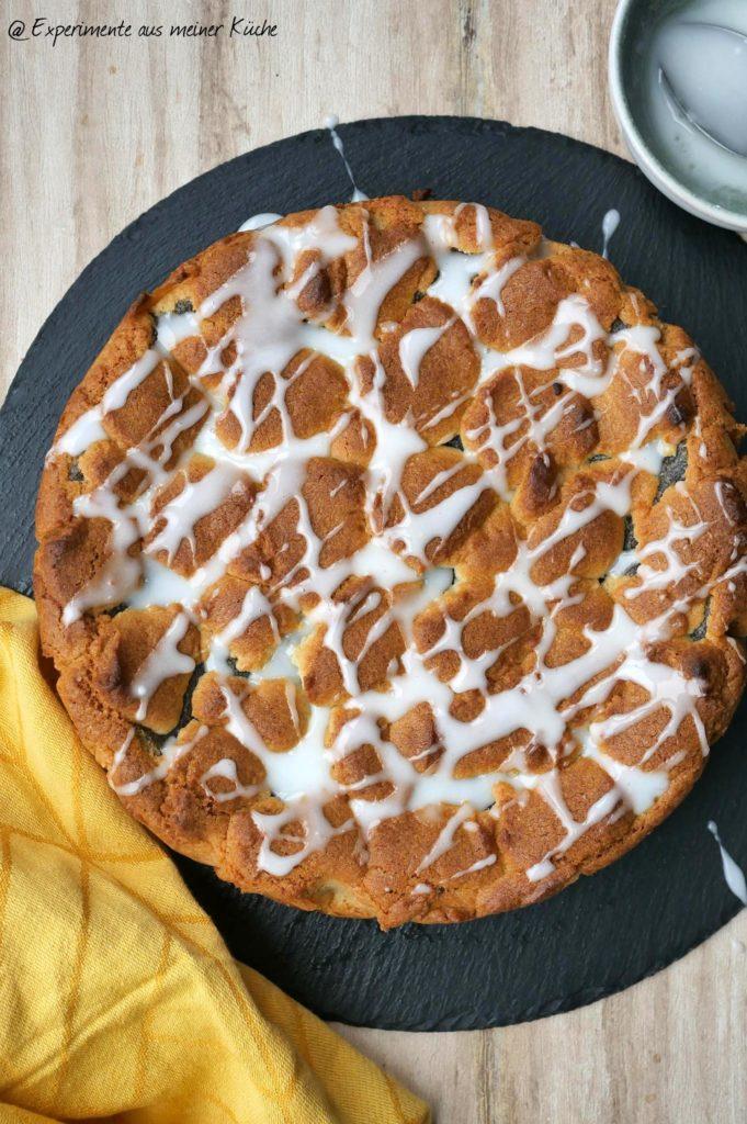 Mohn-Pudding-Kuchen | Rezept | Backen
