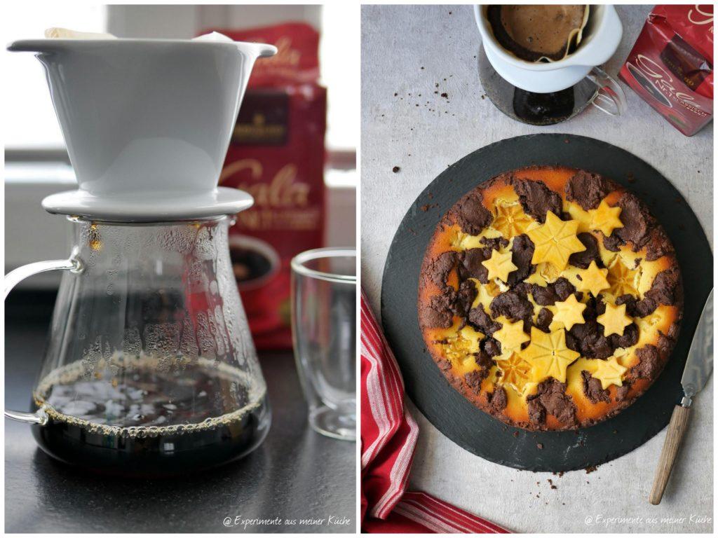 Russischer Zupfkuchen mit Kaffee | Rezept | Backen | Kuchen | Essen