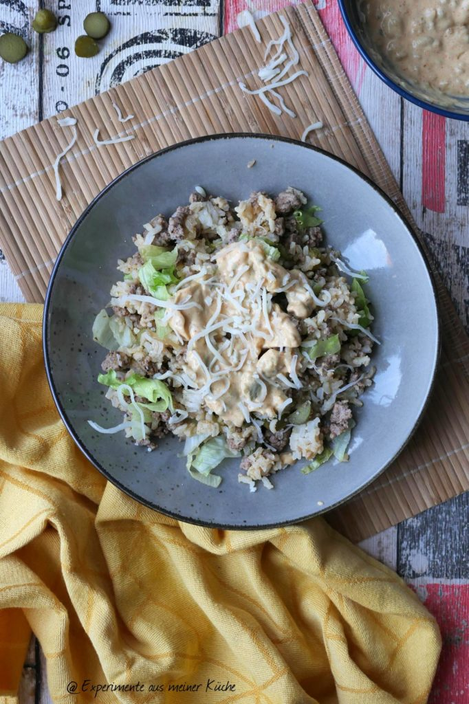 Big Mac Reissalat | Rezept | Kochen | Essen | Weight Watchers