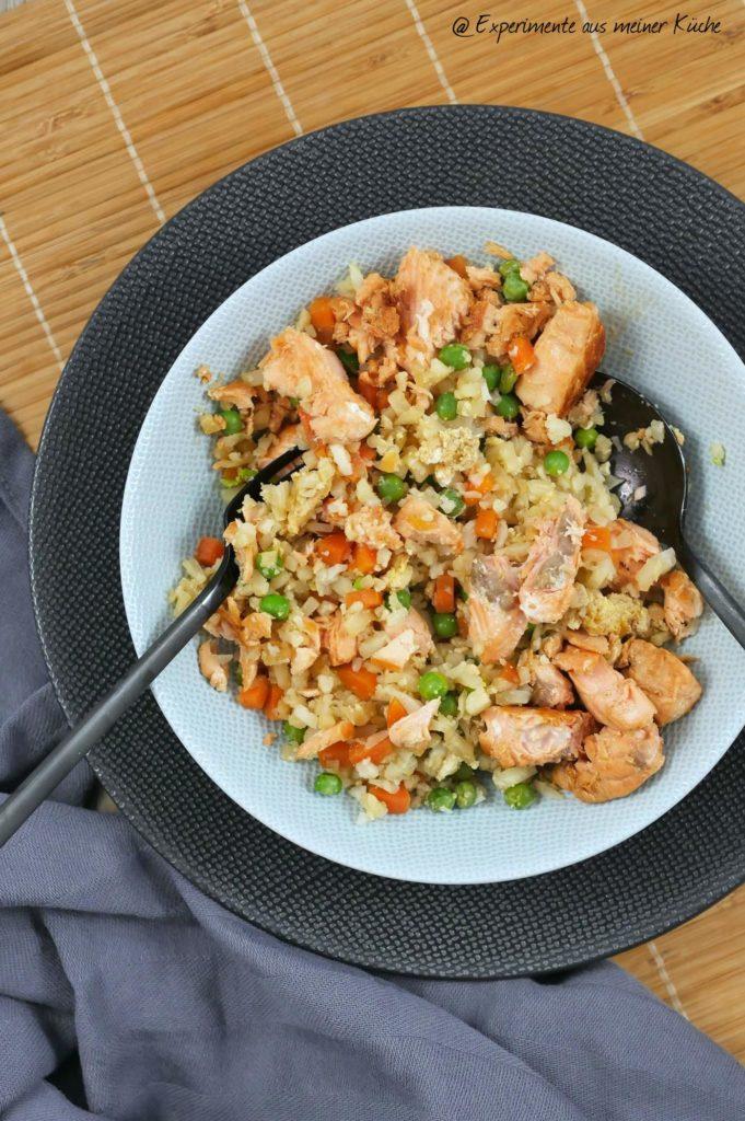 Blumenkohl Fried Rice   Rezept   Essen   Kochen   Weight Watchers