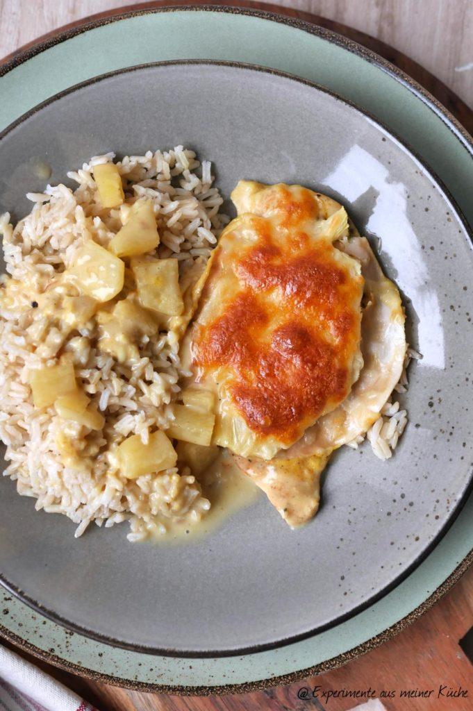 Hähnchenschnitzel Hawaii | Rezept | Essen | Kochen | Weight Watchers