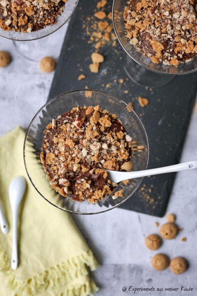 Schokopudding á la Rocher   Rezept   Essen   Dessert   Weight Watchers