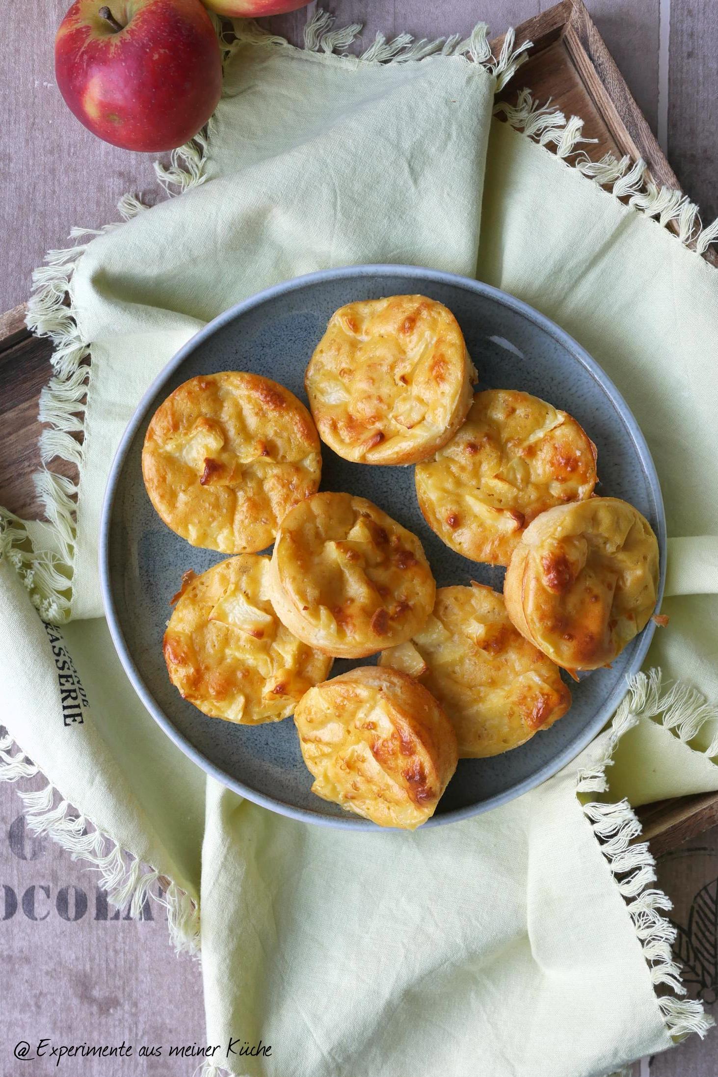 Gesunde Apfel-Muffins - Experimente aus meiner Küche