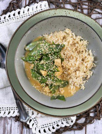 Cremiges Erdnusshähnchen | Rezept | Essen | Kochen | Weight Watchers
