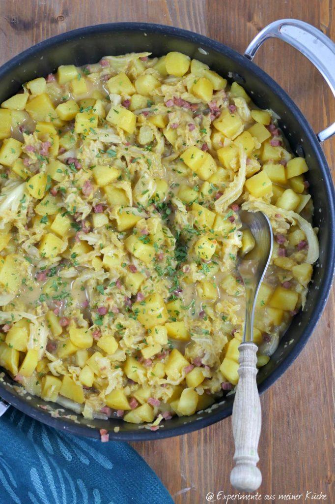 Kartoffel-Wirsing-Pfanne | Rezept | Kochen | Essen | Weight Watchers
