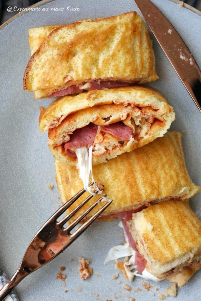 Pizza-Pfannkuchenrolle | Rezept | Essen | Kochen | Weight Watchers