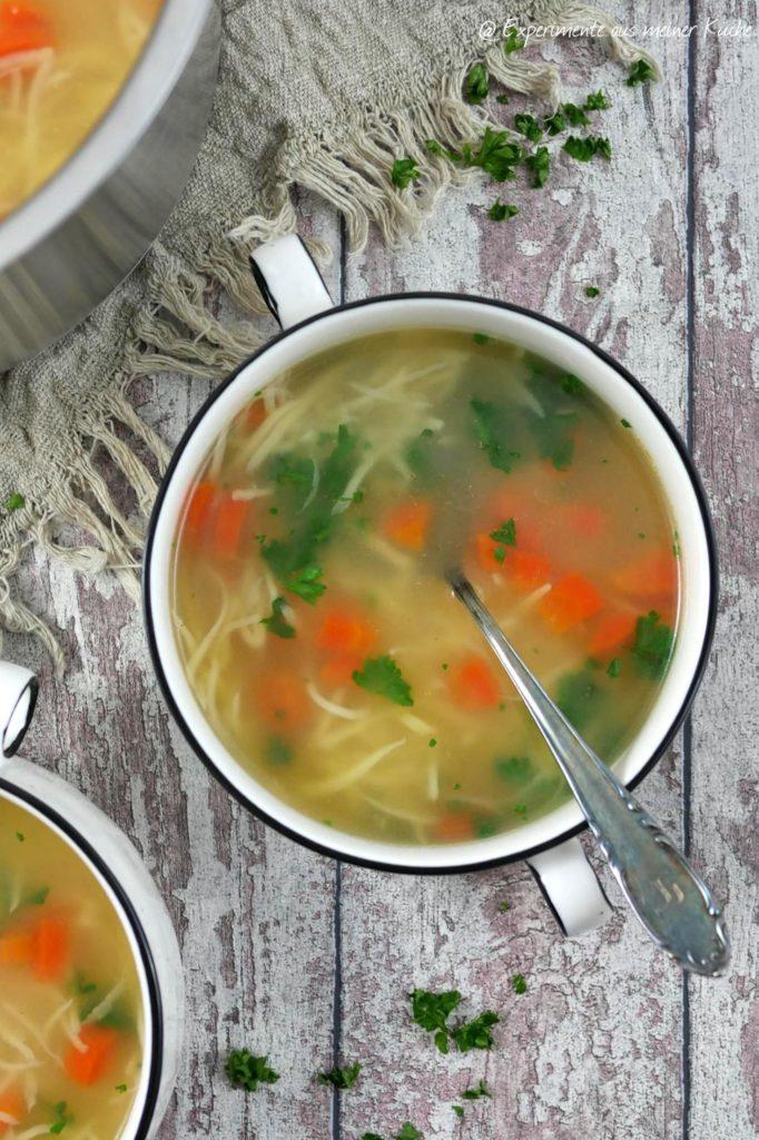Polnische Nudelsuppe - Rosół | Rezept | Kochen | Essen | Polnische Küche