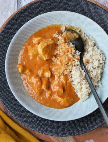 Hähnchen in Zwiebel-Rahmsoße | Rezept | Kochen | Essen | Weight Watchers