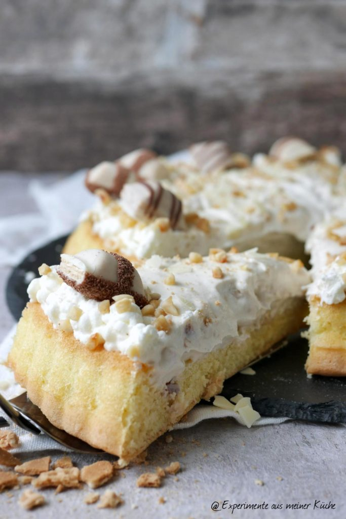 Kinder Bueno White Torte | Rezept | Backen | Kuchen