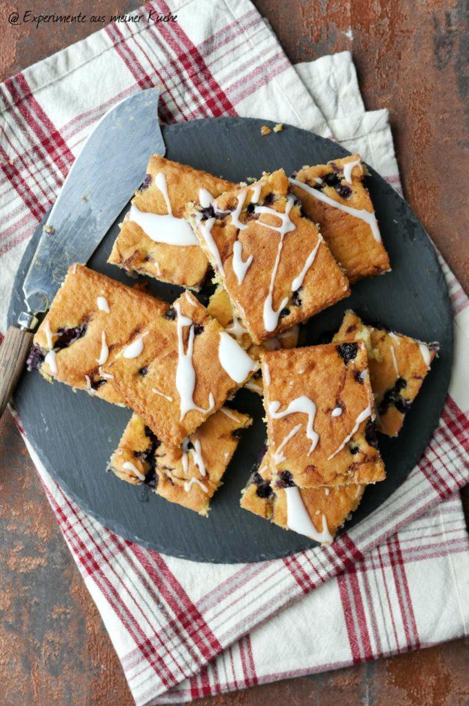 Mandelkuchen mit Heidelbeeren | Rezept | Backen | Kuchen | Weight Watchers
