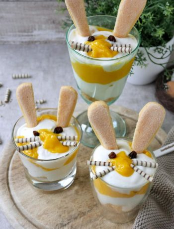 Osterhasen-Mango-Quark | Rezept | Dessert | Nachtisch | Essen | Weight Watchers