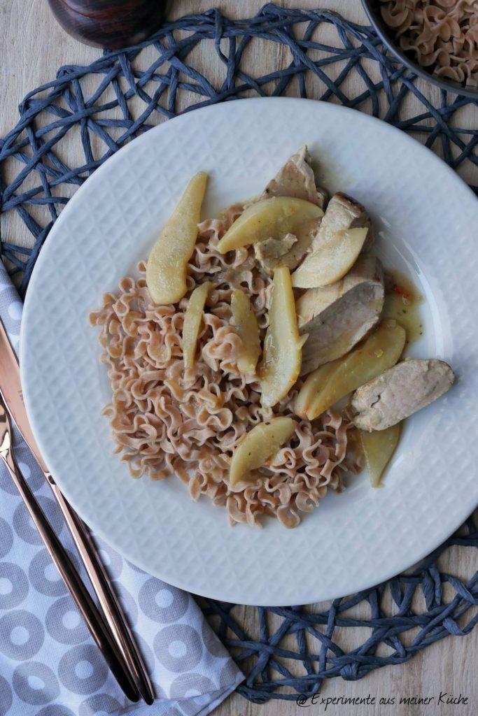 Schweinefilet mit Birnen | Rezept | Essen | Kochen | Weight Watchers