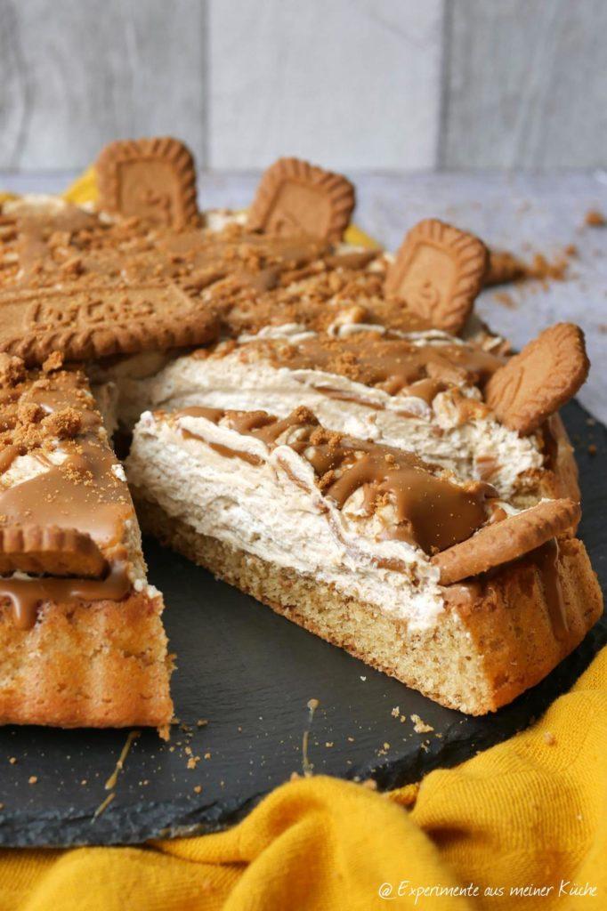 Lotus-Torte | Rezept | Backen | Kuchen | Essen
