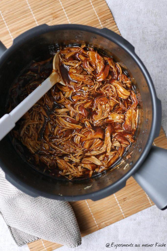 Pulled Honig Teriyaki Hähnchen | Rezept | Essen | Kochen | Weight Watchers