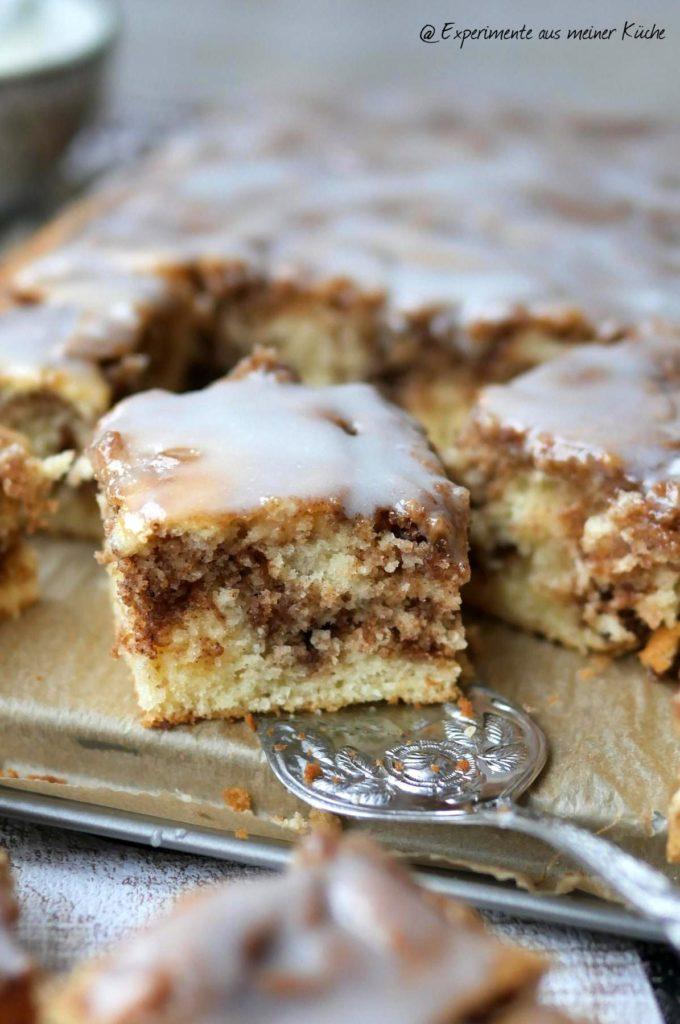 Zimtschnecken-Kuchen | Rezept | Backen | Essen