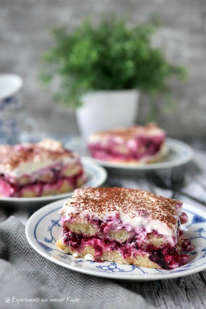 Beeren-Tiramisu | Rezept | Dessert | Essen