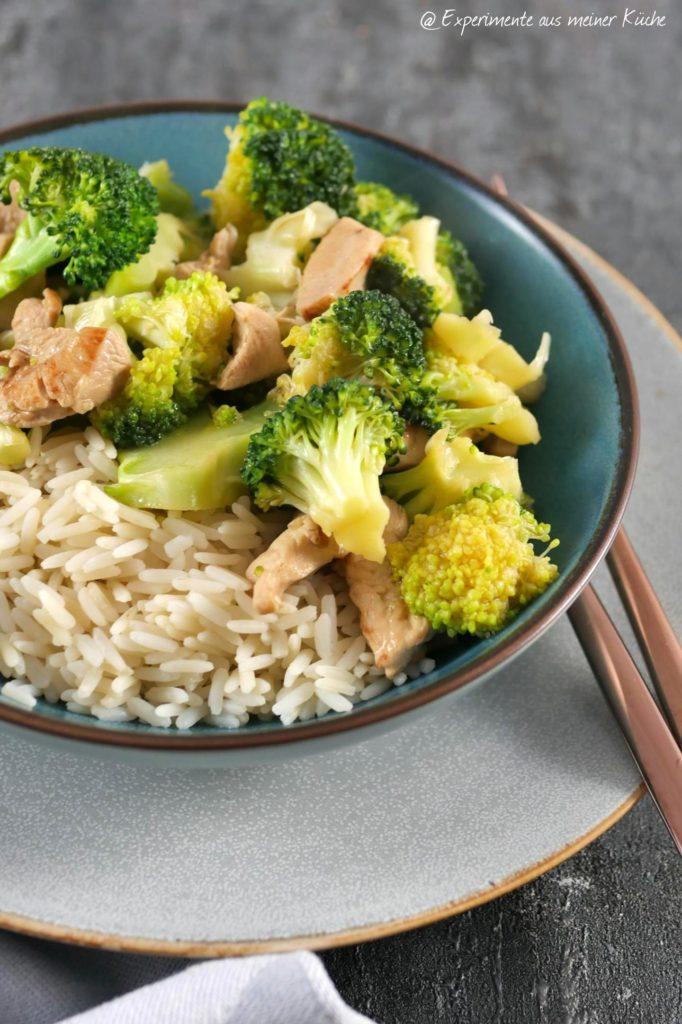 Brokkoli-Hähnchen-Pfanne | Rezept | Essen | Kochen | Weight Watchers
