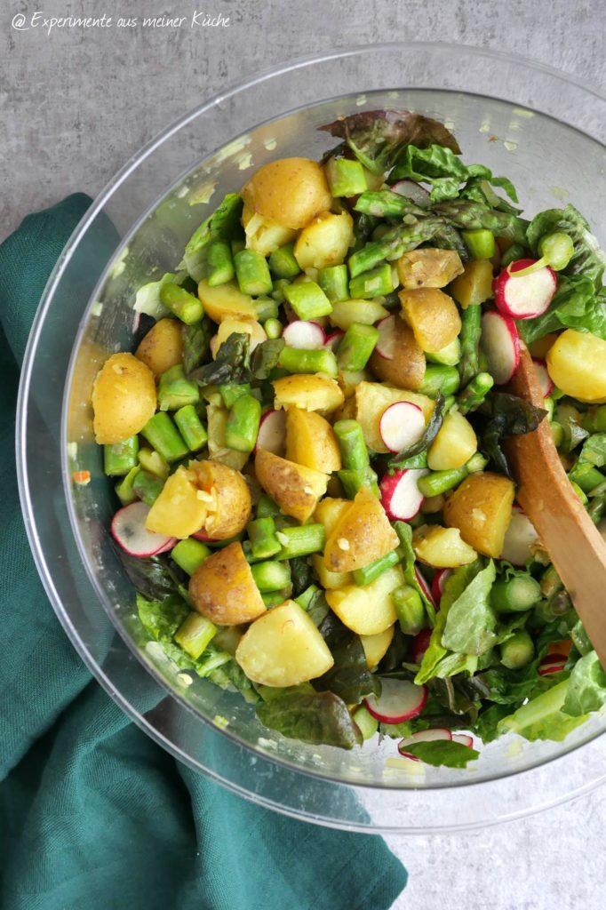 Kartoffel-Spargel-Salat   Rezept   Essen   Kochen   Weight Watchers