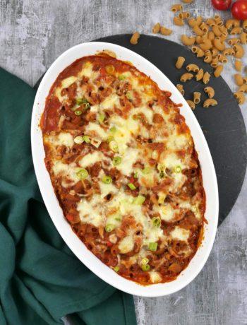 One Pot Nudelauflauf | Rezept | Essen | Kochen | Pasta | Weight Watchers