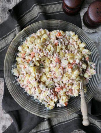 Polnischer Kartoffelsalat | Rezept | Kochen | Essen | Partyrezept