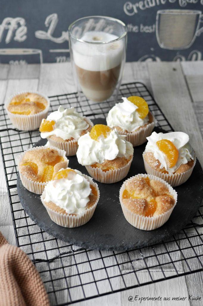 Biskuitmuffins mit Mandarinen | Rezept | Backen | Essen | Weight Watchers