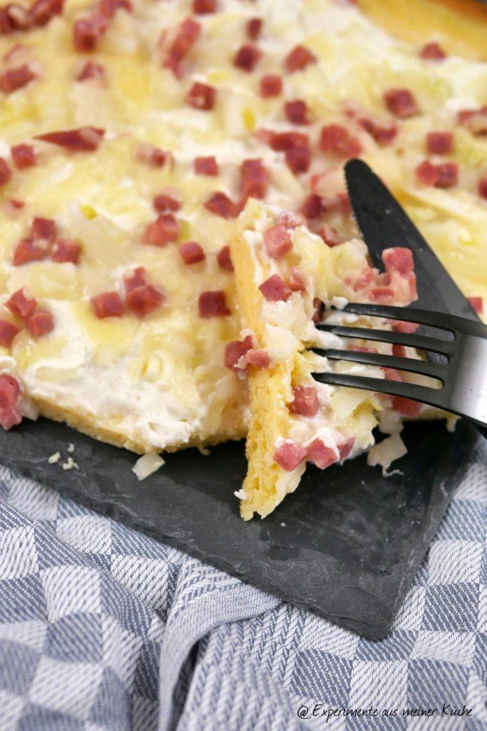 Low Carb Flammkuchen | Rezept | Kochen | Essen | Weight Watchers