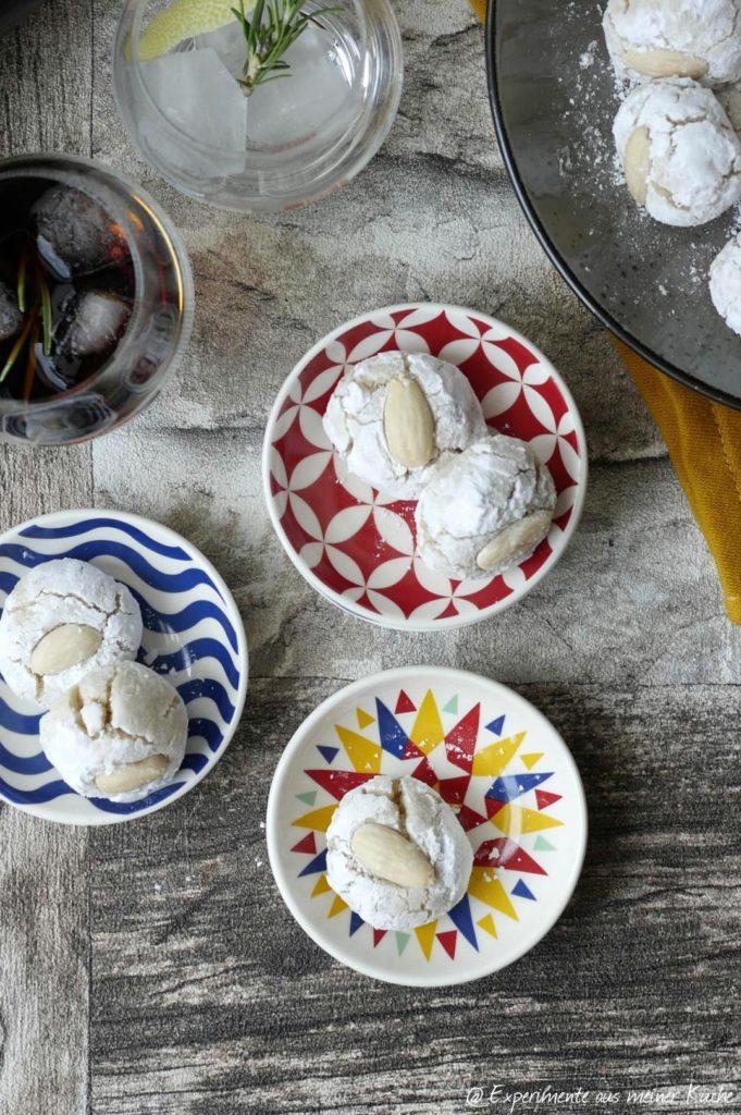 Sizilianischer Abend   Paste di Mandorla   Kekse   Essen   Rezept   Gebäck   Backen