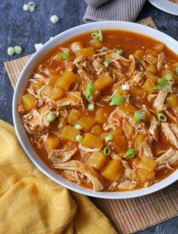 Hawaii BBQ Pulled Chicken | Rezept | Essen | Kochen | Weight Watchers | Hähnchen | Cook4Me