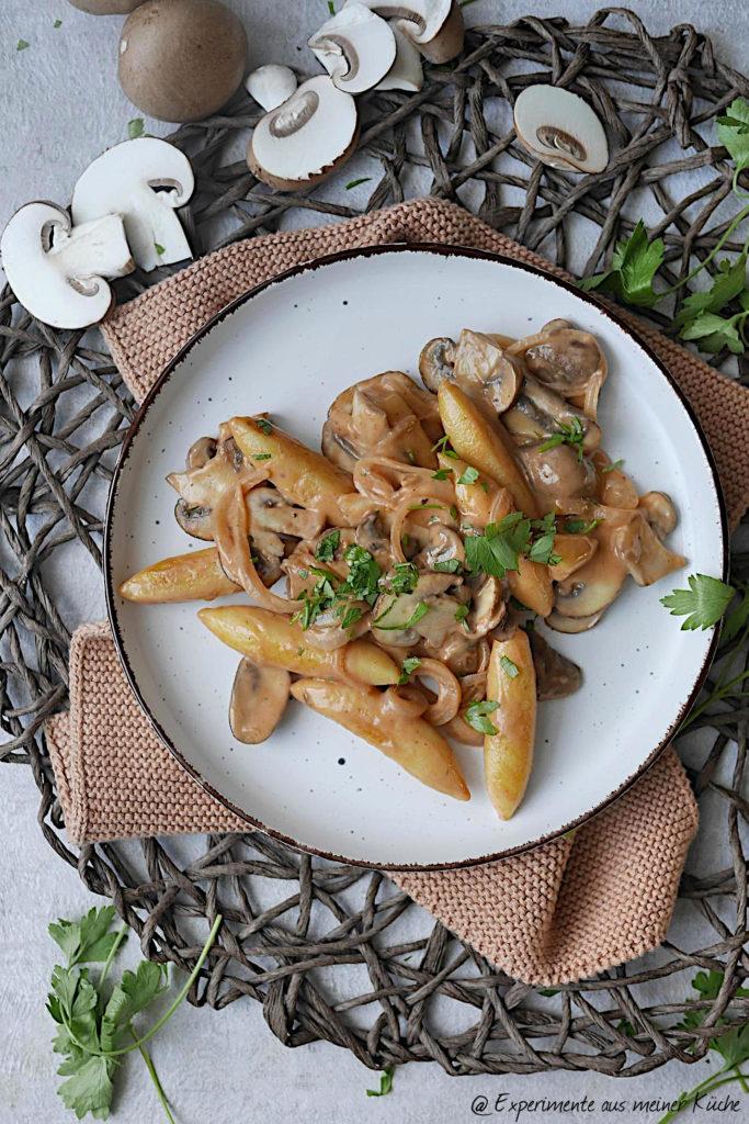Pilzpfanne mit Schupfnudeln | Rezept | Kochen | Essen | Weight Watchers