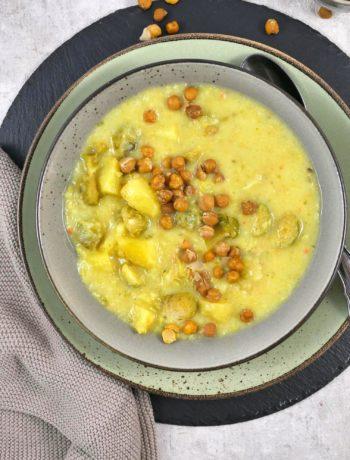Rosenkohl-Kartoffel-Suppe | Rezept | Kochen | Essen | Weight Watchers | Eintopf